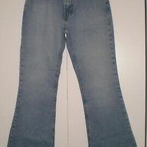 Vintage Gap Flare Bootcut Jeans Light Wash Blue Size 1 Vgc Photo