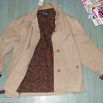 Vintage Gap Paisley Lined Barbour Barn Jacket-Corduroy Collar- Photo