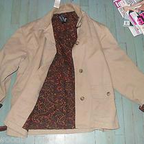 Vintage Gap Paisley Lined Barbour Barn Jacket-Corduroy Collar- Photo