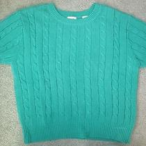 Vintage Gap Womens Cable Sweater Size Large Photo