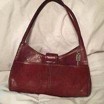 Vintage Genuine Leather Fossil Purse Shoulder Bag Photo