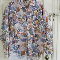 Vintage Georges Marciano Guess Shirt Southwestern 80's 90's Usa Cotton M  Photo