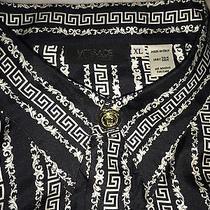 Vintage Gianni Versace Gianni Versace Couture Vintage Versace Silk Shirt Photo