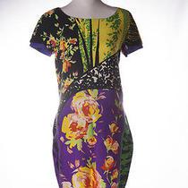 Vintage Gianni Versace Istante Floral Dress Photo