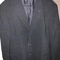 Vintage Giorgio Armani Slim Fit Two Button Mens Wool Blazer(sz l) Photo