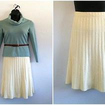 Vintage Givenchy Art Deco Knit Skirt Photo