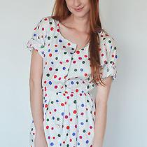 Vintage Givenchy Dress - Cotton 80s Sundress With Polka Dots and Pockets Photo