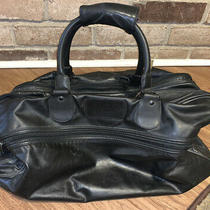 Vintage Givenchy Leather Weekender Travel Tote Duffle Bag Vtg 2800 Photo