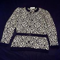 Vintage Givenchy Sweater Cardigan Holiday Photo