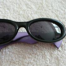 Vintage Givenchy Violet Glass Lens Sunglasses  Photo