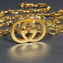Vintage Gold Tone Gucci  Belt Wow 1960s 1970 Photo