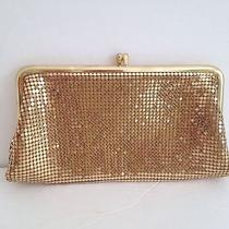 Vintage Goldtone Mesh Whiting & Davis Evening Bag Purse Photo