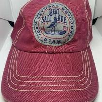 Vintage Great Salt Lake State Marina Utah Hat Red Great Condition.  Photo