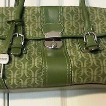 Vintage Green Fossil Handbag  Photo