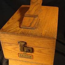 Vintage Griffin Shinemaster Shoe Shine Box Photo