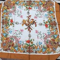 Vintage Gucci 100% Silk Scarf by v. Accornero Floral Birds 34