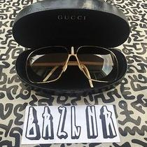 Vintage Gucci Aviator Sunglasses Photo