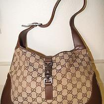 Vintage Gucci Brown Purse Photo
