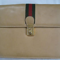 Vintage Gucci Clutch in Amazing Colors...not to  Be Missed With This Price Photo