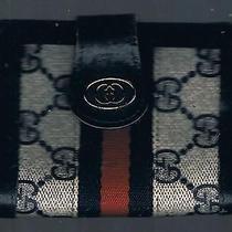 Vintage Gucci Monogram Wallet (Italy) Photo
