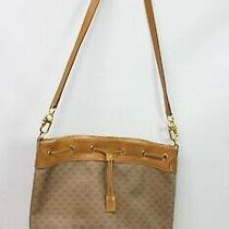 Vintage Gucci Ophidia Bucket  Monogram Web Brown Gg Supreme Canvas Shoulder Bag Photo