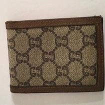 Vintage Gucci Plus Bifold Wallet Photo