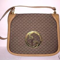 Vintage Gucci Purse Blondie Shoulder Bag Large Gg 1970s Medallion Gg's Vintage Photo