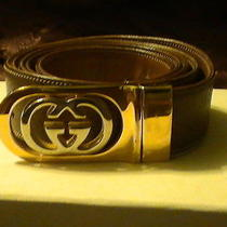 Vintage Gucci Reversible  Belt 50' Photo