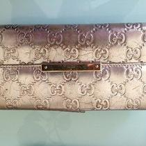 Vintage Gucci Silver Wallet Photo