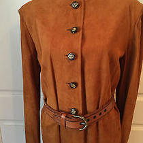 Vintage Gucci Suede Dress Photo