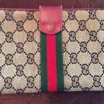 Vintage Gucci Wallet Ca 1970's Photo