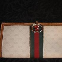 Vintage Gucci Wallet With Red and Green Stripes Photo