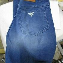 Vintage Guess Denim Jeans Made in Usa Medium Blue Size W32 X L32  Original Tsg Photo