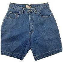 Vintage Guess High Rise High Waisted Long Mom Jeans Denim Shorts Size 30 Photo