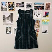 Vintage Guess Jeans Brand Plaid Dress Size Medium Photo