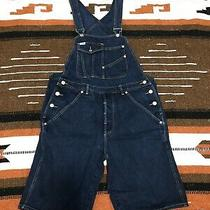 Vintage Guess Jeans Georges Marciano Made in Usa Denim Blue Overalls Size S Photo