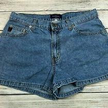 Vintage Guess Jeans High Rise Denim Jean Shorts Size 31 Womens A13 Photo