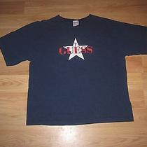Vintage Guess Jeans Size Medium Graphic T-Shirt/free Shipping Photo