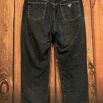 Vintage Guess Jeans Tapered Usa Made Denim Men's Size 38 X 30 Style 10181-30 Photo