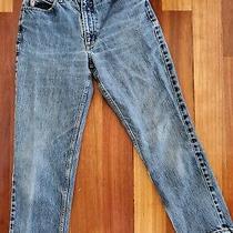 Vintage Guess Mom Jeans Size 29 High Rise Light Wash Original Fit Narrow Leg Photo