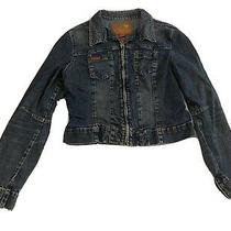 Vintage Guess Womens Denim Jacket Size Xl Photo