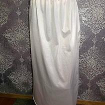 Vintage Half Slip Silky Polyester French Maid 1980s Blush Lingerie M Photo