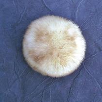 Vintage Hand Made Fur Hat Lamb Lambs Wool Genuine Tuscan Lamb Skin  Ski Bunny  Photo