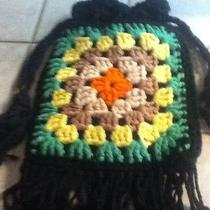 Vintage Handmade Crocheted Bag Photo