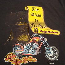 Vintage Harley Davidson Motorcycle Fun Wear T Shirt Xl Photo