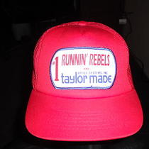 Vintage Hat 1 Running Rebels and Office systeminc.taylor Made Rare New Photo