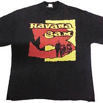 Vintage Havana 3am Paul Simonon the Clash Punk Rockabilly Concert Tour T-Shirt Photo