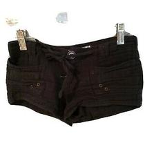 Vintage Havana Girls Short Shorts Size 10 Black Photo