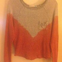 Vintage Havana Long Sleeve Knit Top Slub Sweater S Photo