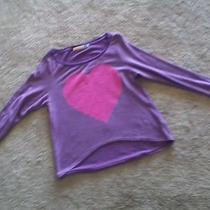 Vintage Havana Purple/ Pink Heart High-Low Top M Photo